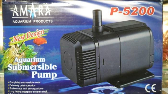 Jual Pompa aquarium Amara P 5200 / Amara 5200 / pompa ...