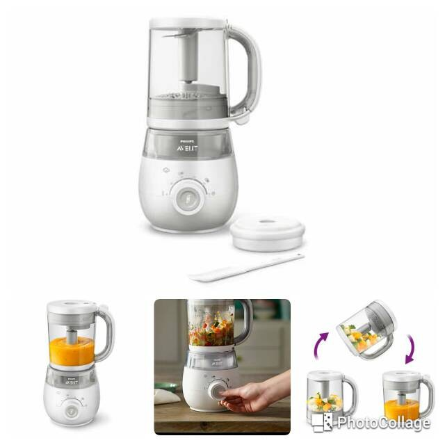 Jual Philips Avent 4 in 1 Healthy Baby Food Maker - Steam ...