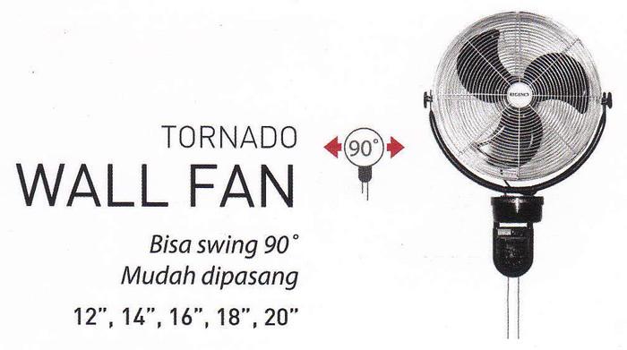 ... REGENCY TW 20 Kipas Angin Besi Wall Fan 20 50 cm