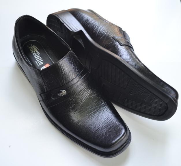 ... harga Sepatu pantofel kerja kantor formal pria kulit asli crocodile  hitam a2 Tokopedia.com 1612fe564e