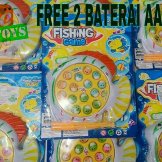 Jual Mainan Edukasi Anak Fishing Game Mancing Pancing Ikan