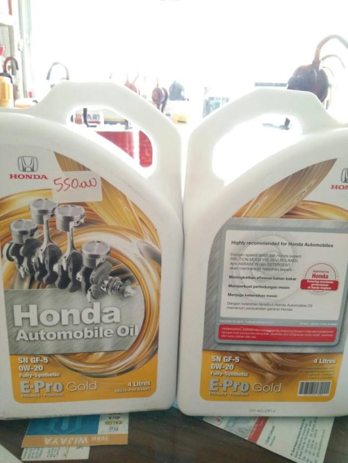 HONDA e-pro gold 0w-20 galon 4ltr