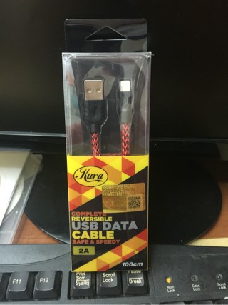 harga Cable data iphone 5 - 6 - ipad mini Tokopedia.com