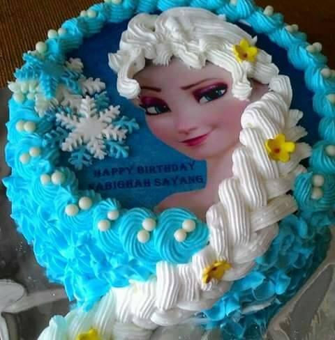 Jual Kue Ulang Tahun Frozen Elsa Kota Surabaya Pannypinoypancake Tokopedia