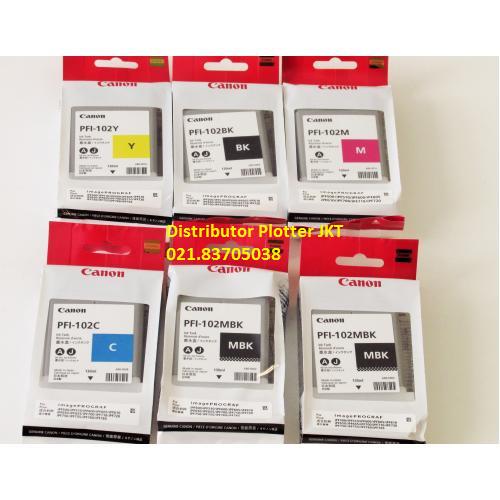harga Distributor tinta plotter canon ipf 605 pfi 102 anindyatrans 745 rb Tokopedia.com