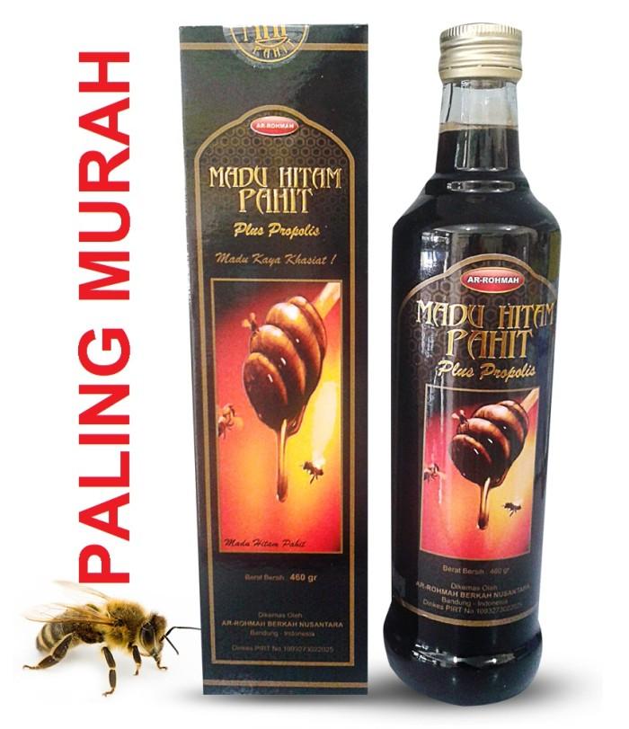 harga Paling mura ! madu hitam pahit plus propolis ar-rohmah 460gr Tokopedia.com