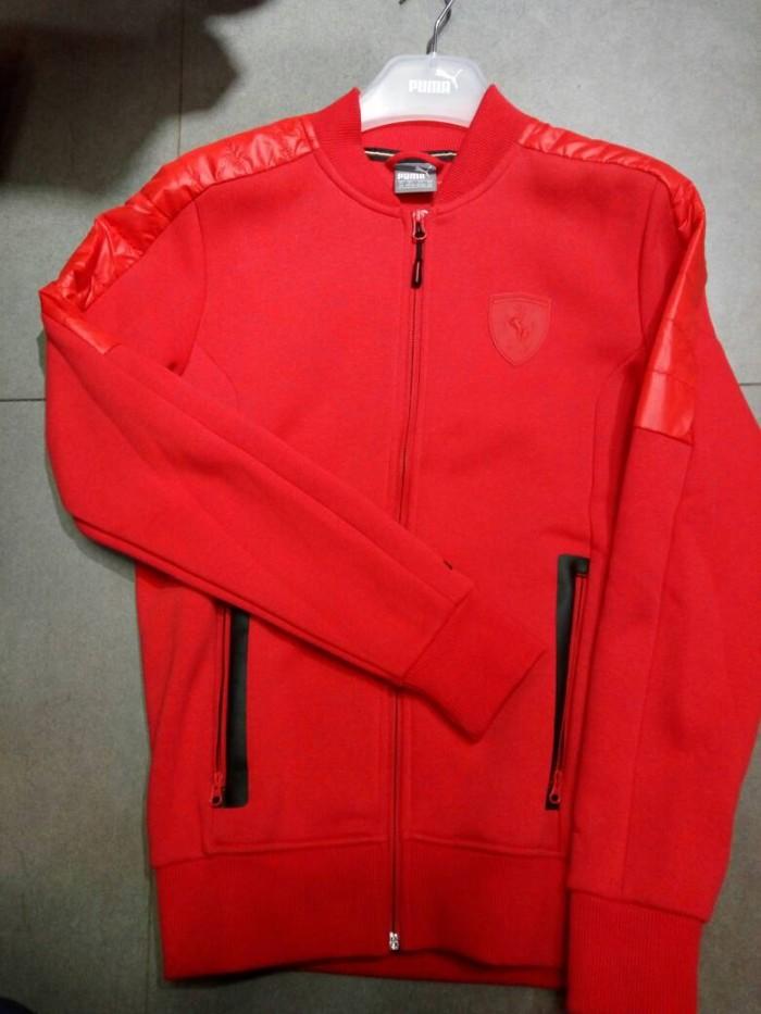 Jual Jaket Puma Ferrari Sweat Jacket 100% ORIGINAL - Crystalis ... 76bef6721b