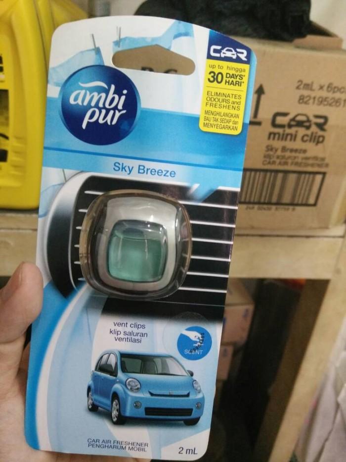 Jual parfum mobil AMBIPUR mini clip 2ml - grosir pelumas ...