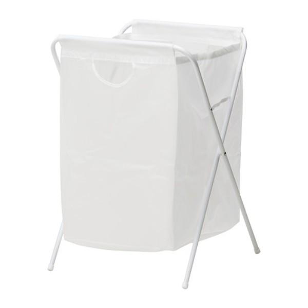 Ikea jall foldable laundry basket - keranjang cucian lipat serbaguna
