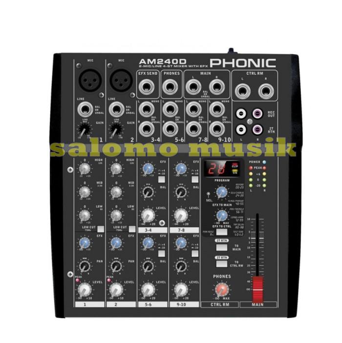 harga Mixer phonic am240d am 240d am 240 d Tokopedia.com