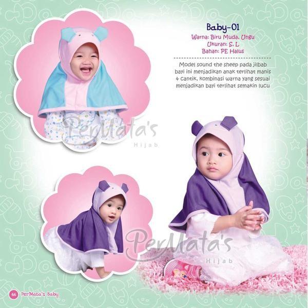 Jual Permata Baby Uk S Hijab Jilbab Anak Bayi Balita Royal