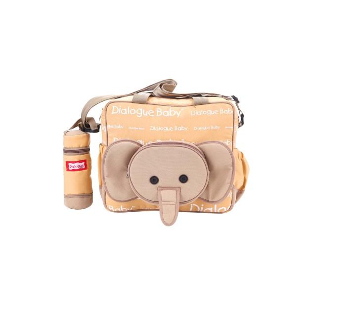 harga Dialogue tas bayi medium + tempat botol susu cute series (dgt-7118) Tokopedia.com