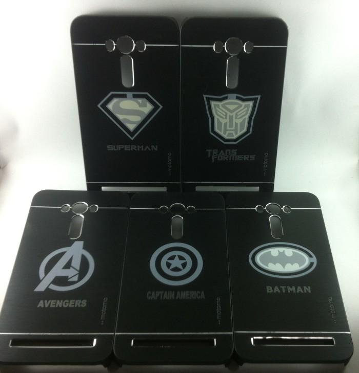 harga Motomo super hero metal bumper hard case cover zenfone 2 laser 5.5 Tokopedia.com