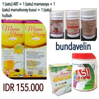 harga 1 abt + 1 mamasoya + 1 mamahoney busui + 1 hulbah *super hemat* Tokopedia.com