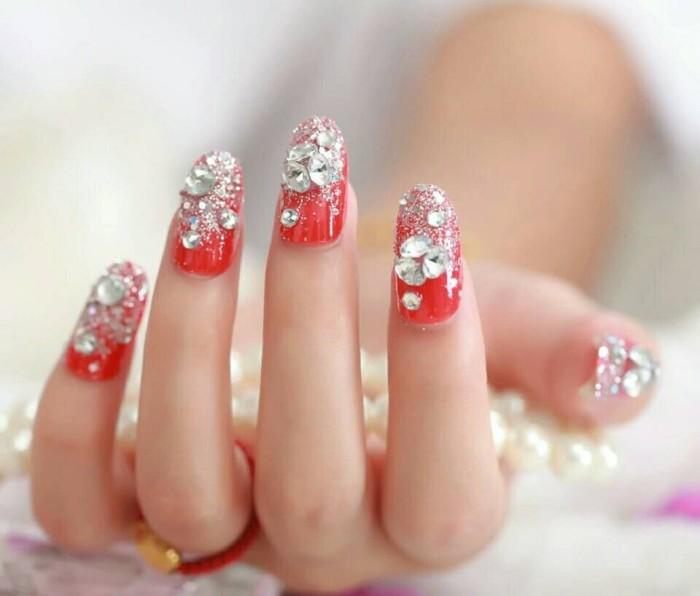 Model Kuku Nail Art: Jual Kuku Palsu 3D Nail Art Cocok Untuk Party / Wedding