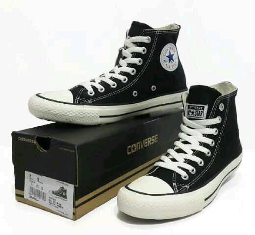 harga Converse high sepatu casual sekolah pria&wanita premium Tokopedia.com
