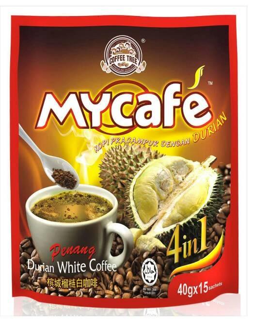 Import COFFEE TREE Penang White Coffee Rasa Baru Durian 4in1 Murah