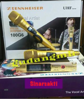 harga Murah!! mic wireless sennheiser 100 g6 ( 2 mic ) Tokopedia.com