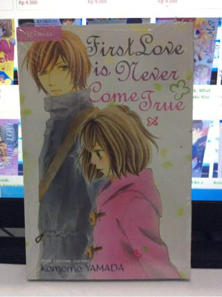 Cuci Gudang Komik: First Love is Never Come True