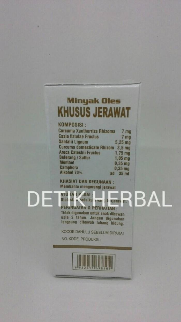 Jual Minyak Oles Jerawat Cap Wayang Original Detik Herbal Tokopedia Khusus 35ml