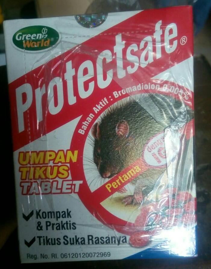 harga Protectsafe umpan & racun tikus tablet 100gr Tokopedia.com