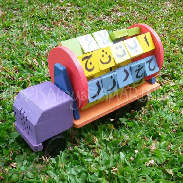 Mobil Truk Mainan Kayu - All Desain