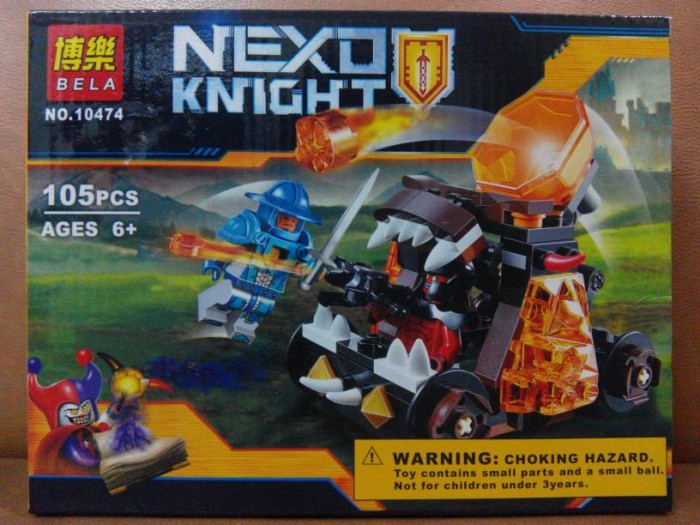Jual Lego bela 10474 nexo knights chaos catapult - Bdw Store ...