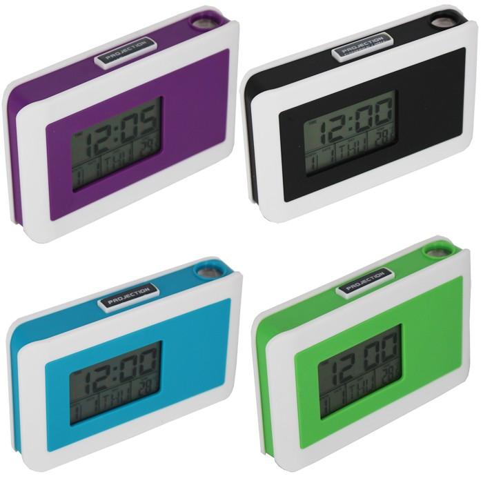 Ruibao Jam Weker/Alarm Clock Projection-Biru