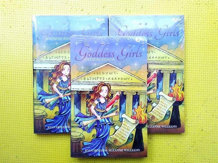 harga Goddess girls - si cerdas athena (joan holub & suzanne williams) Tokopedia.com