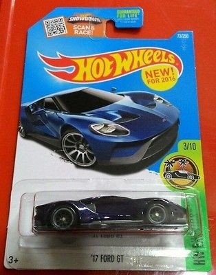 Hotwheels Hot Wheels Ford Gt Super Treasure Hunt Th  Us Card