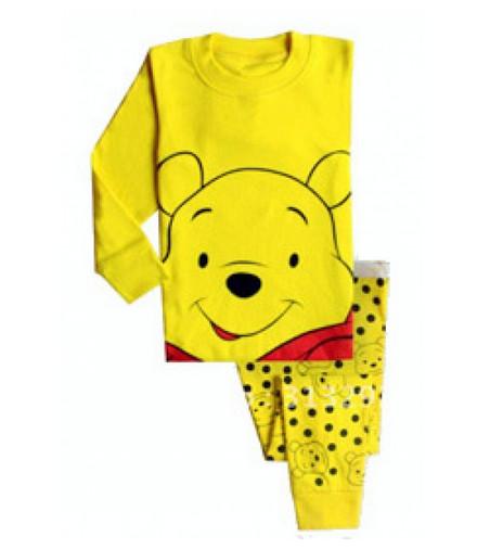 harga Piyama anak murah / set pajamas gap h.k - yellow pooh Tokopedia.com