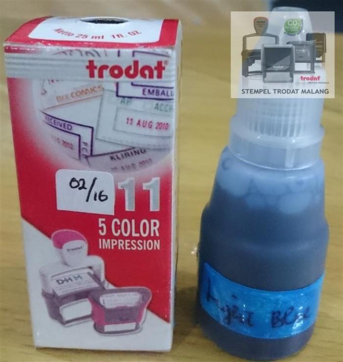 Jual Tinta Trodat 7011 Light Blue Kota Malang Stempel Trodat Malang Tokopedia