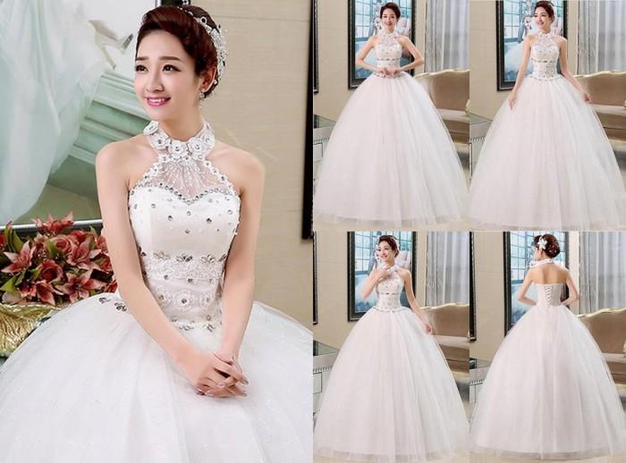 Jual Wedding Dress Gaun Pengantin Import Mewah Cantik Murah Gi 88859