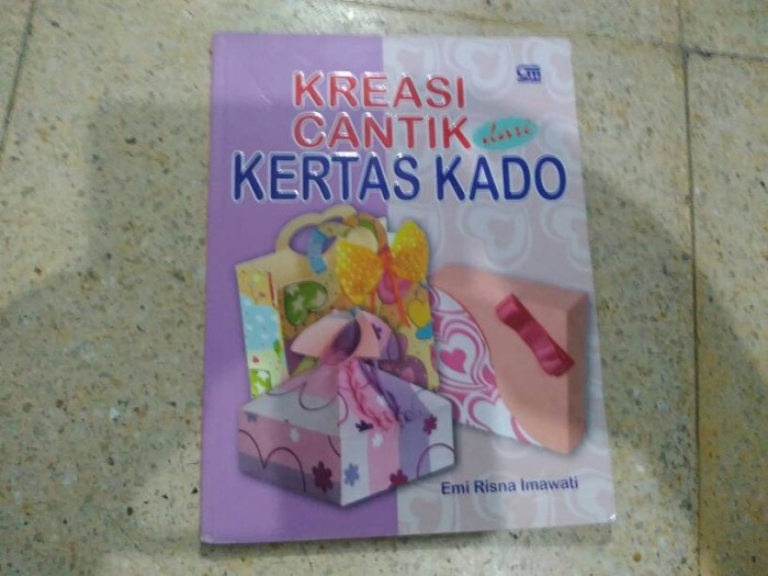 Jual Buku Kreasi Cantik dari Kertas Kado - Movie   Book Mania ... ca84242af2