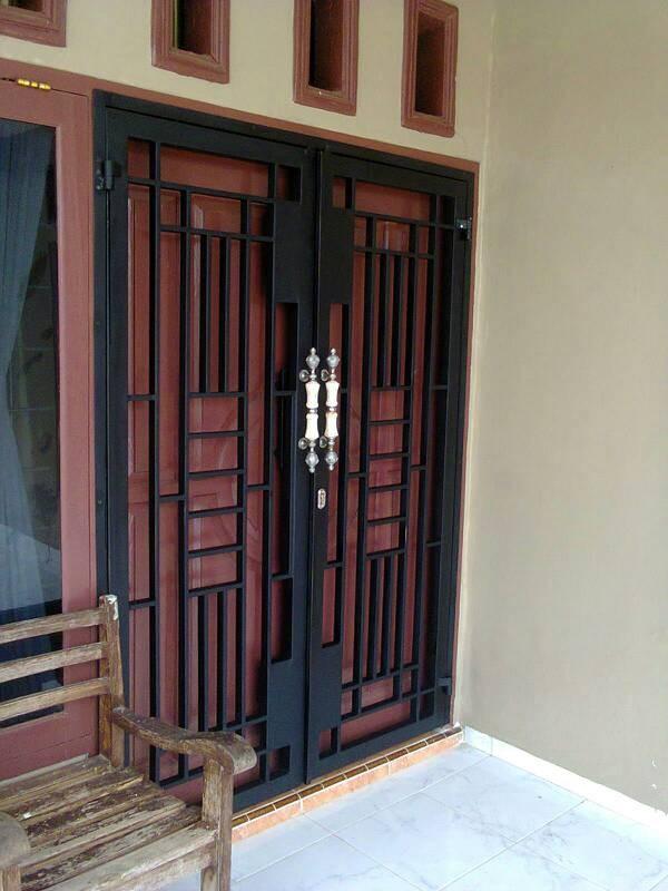 Jual Pintu Tralis Minimalis Kota Bandar Lampung Doel Tralis