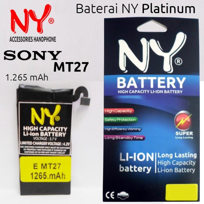 harga Baterai ny platinum sony xperia mt27 / sola Tokopedia.com