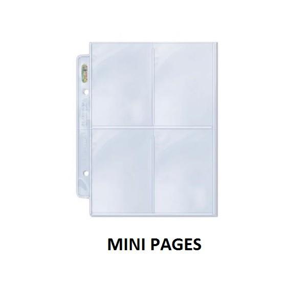 Jual Ultra Pro 4 Pocket Page Mini Untuk Refill Aikatsu Binder