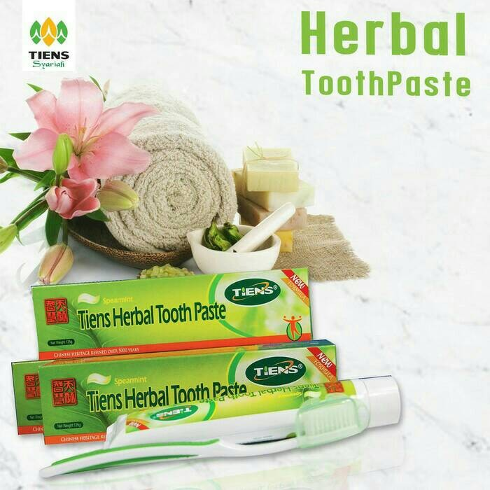 Jual Pemutih Gigi Pasta Gigi Herbal Tiens Solusi Bau Mulut
