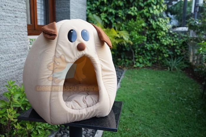 harga Dog Face Pet Bed / Kasur Anjing & Kucing / Tempat Tidur Anjing Kucing Tokopedia.com