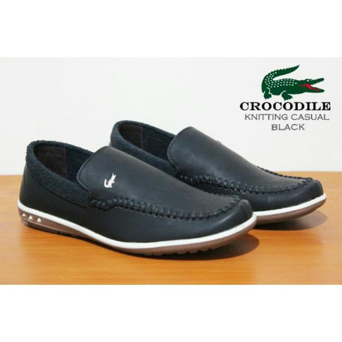 Jual Sepatu Slip On Pria Crocodile Lacoste Model Terbaru Santai ... 222d00dba1