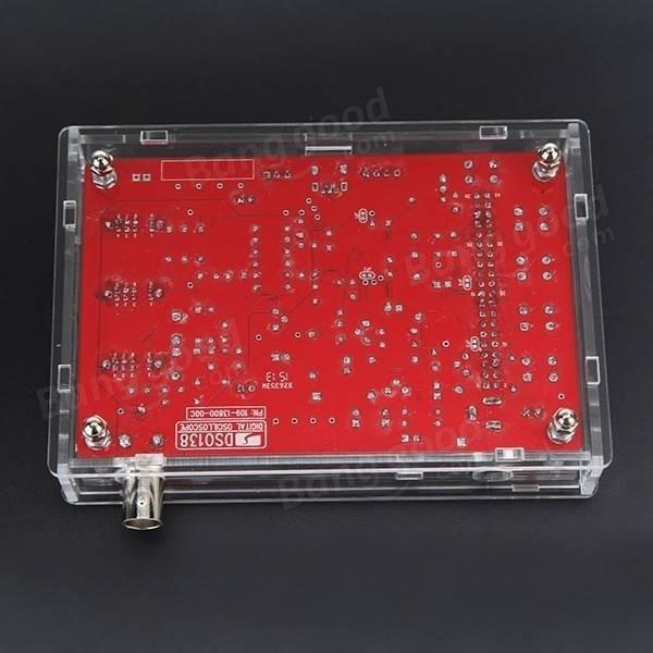 Casing case box acrillic modul digital oscilloscope dso138