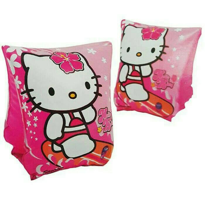 Pelampung Tangan Motif Hello Kitty Intex 56656 / Ban Lengan / Arm Band