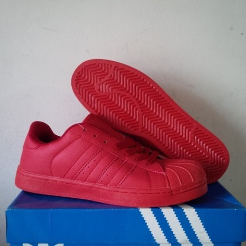 Jual Adidas Superstar Supercolor Pack Red Pharrell Williams Shoes Kota Tangerang KLIK SHOES | Tokopedia