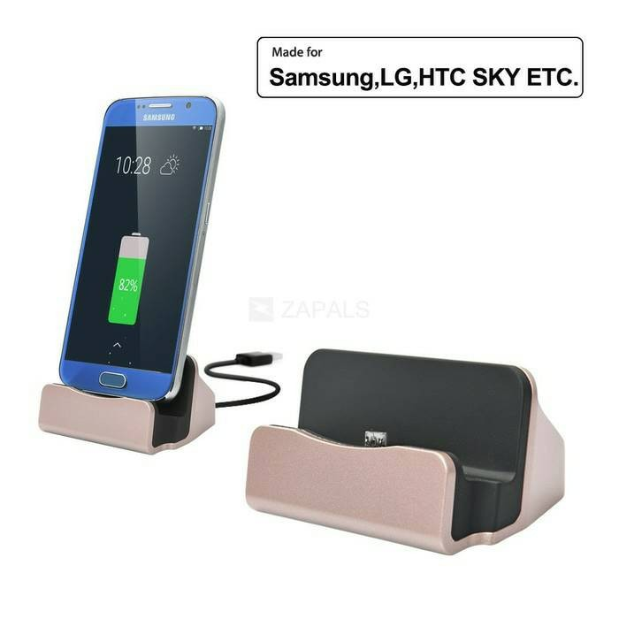 harga Docking dock charger micro usb for samsung android lg oppo xiaomi Tokopedia.com