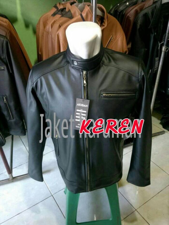 harga Promo...! jaket kulit motor sintetis asli garut termurah! Tokopedia.com
