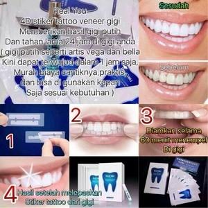 Jual Tatoo Gigi Wujudkan Gigi Putih Seperti Artis D3wix Shop