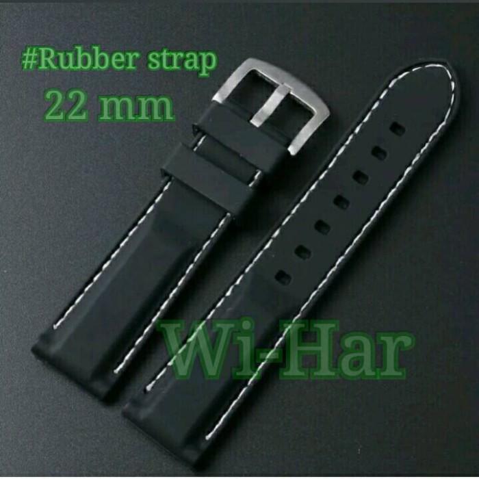 Jual Strap Rubber / Tali jam Tangan Karet (22mm) - Kab. Bekasi ...