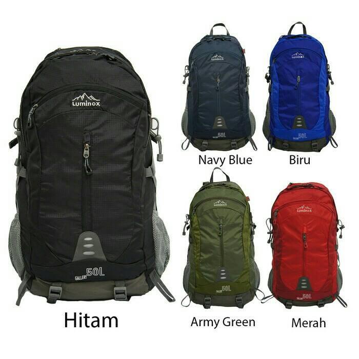 Tas Ransel Hiking Backpack Outdoor Luminox 5029 50l Hijau - Daftar ... 91ace1991f