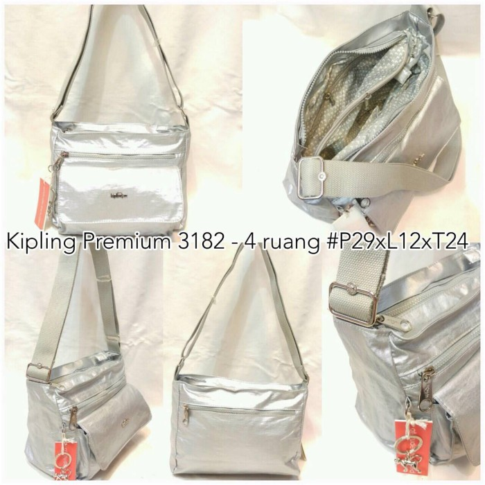 ... harga Tas kipling metalik selempang k3182 super premium 4 ruang  Tokopedia.com 94553a39b6