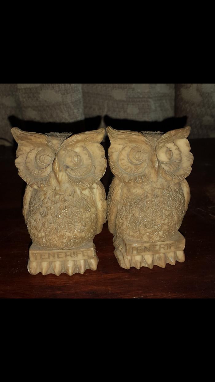 Jual Pajangan Meja Owl Burung Hantu Lucu Unik Tenerife Kota Bekasi Mielleart